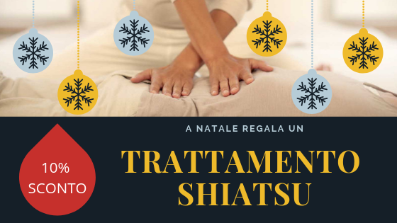 A Natale regala un trattamento Shiatsu